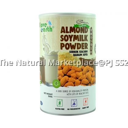 Love Earth Organic Soy Almond Milk Powder 500g